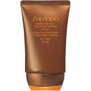 Shiseido - Self Tan - Brillant Bronze Tinted Self Tanning Cream