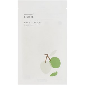 Sioris - Masken & Peelings - Make it Bright Sheet Mask