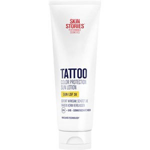 Skin Stories - Tattoo Pflege - Tattoo Color Protection Sun Lotion LSF 30