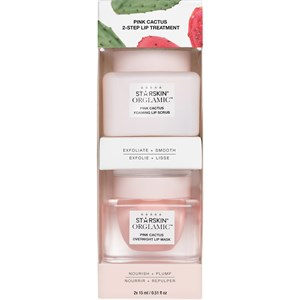 StarSkin - Gesichtspflege - Orglamic Lip Treatment Pink Cactus