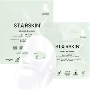 StarSkin - Cloth mask - Behind The Scenes Balancing Face Mask Bio-Cellulose