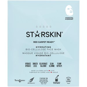 StarSkin - Tuchmaske - Red Carpet Ready Hydrating Face Mask Bio-Cellulose