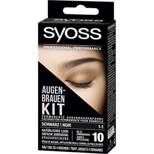 Syoss - Augenbrauen Color - 1-1 Schwarz Stufe 3 Augenbrauen Kit