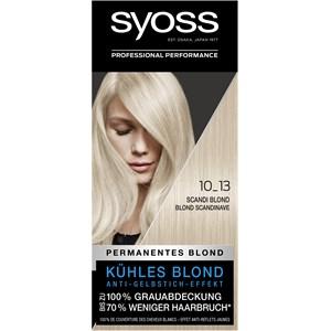 Syoss - Coloration - 10_13 Scandi Blond Stufe 3 Coloration