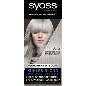 Syoss - Coloration - 10_15 Glänzendes Titan Stufe 3 Permanentes Blond