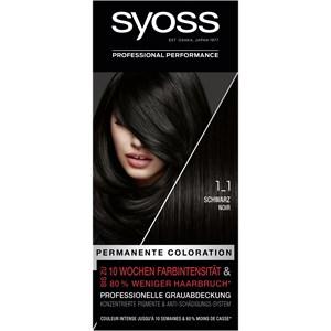 Syoss - Coloration - 1_1 Schwarz Stufe 3 Coloration