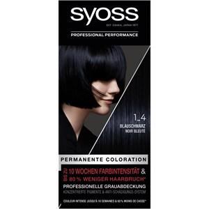 Syoss - Coloration - 1_4 Blauschwarz Stufe 3 Coloration
