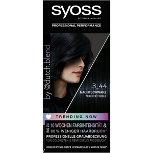 Syoss - Coloration - 3_44 Nachtschwarz Trending Now Coloration