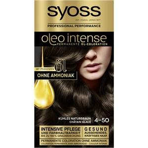 Syoss - Oleo Intense - 4-50 Kühles Naturbraun Oleo Intense Permanente Öl-Coloration