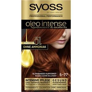 Syoss - Oleo Intense - 5-77 Glänzendes Kupferrot Oleo Intense Permanente Öl-Coloration