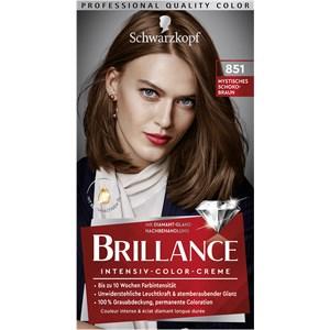 Brillance - Coloration - 851 Castaño chocolate místico nivel 3 Crema intensiva de color