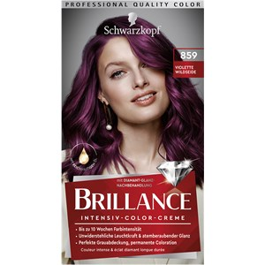 Brillance - Coloration - 859 Seda silvestre violeta nivel 3 Crema intensiva de color