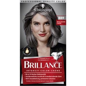 Brillance - Coloration - 889 Cromo metallico grado 3 Crema colorante intensiva