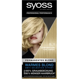 Syoss - Coloration - 8_11 Champagner Blond Stufe 3 Coloration