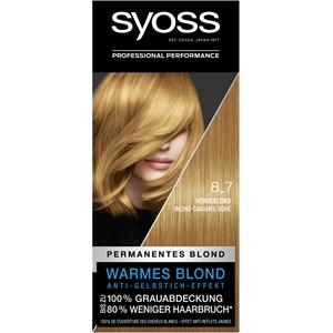 Syoss - Coloration - 8_7 Honigblond Stufe 3 Permanente Coloration