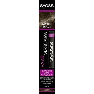 Syoss - Haar Mascara - Mittelbraun