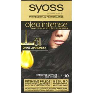 Syoss - Oleo Intense - 1-10 Intensives Schwarz Stufe 3 Öl-Coloration