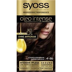 Syoss - Oleo Intense - 4-86 Schokoladenbraun Stufe 3 Öl-Coloration