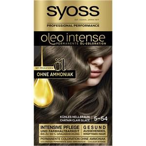 Syoss - Oleo Intense - 5-54 Kühles Hellbraun Stufe 3 Öl-Coloration