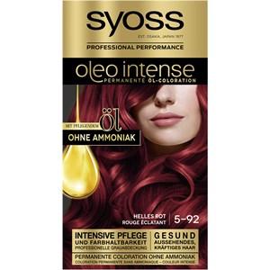 Syoss - Oleo Intense - 5-92 Helles Rot Stufe 3 Öl-Coloration