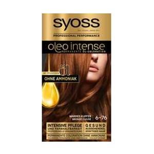 Syoss - Oleo Intense - 6-76 Warmes Kupfer Stufe 3 Öl-Coloration