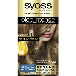 Syoss - Oleo Intense - 7-00 Mittelblond Stufe 3 Öl-Coloration