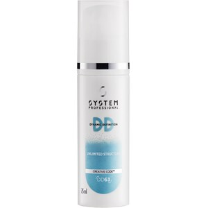 System Professional Energy Code - Dynamic Definition - Unlimited Structure Matte Texturizing Cream