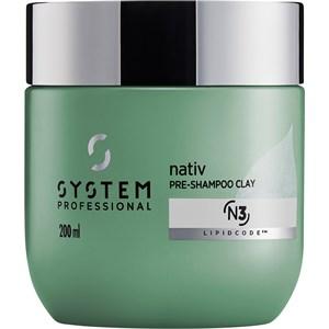 System Professional Energy Code - Nativ - Pre-Shampoo Clay