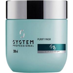 System Professional Lipid Code - Purify - Mask P3