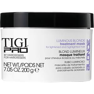 TIGI - Reinigung & Pflege - Luminious Blonde Treatment Mask