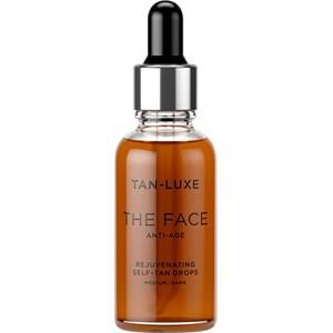 Tan-Luxe - Self-tanners - The Face Anti-Age Medium-Dark
