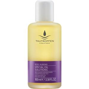 TAUTROPFEN - Special Oil Solutions - Rose / Almond Beruhigendes Körperpflegeöl