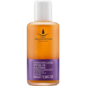 Tautropfen - Special Oil Solutions - Sea Buckthorn / Jojoba Regenerating Body Care Oil