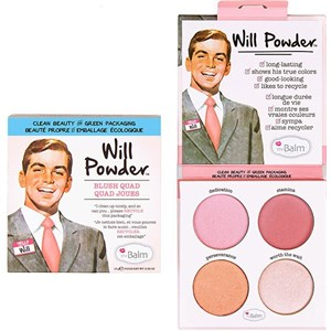 The Balm - Blush - Will Powder Quad