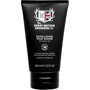 Image of The Great British Grooming Co. Pflege Gesichtspflege Exfoliating Face Scrub 100 ml