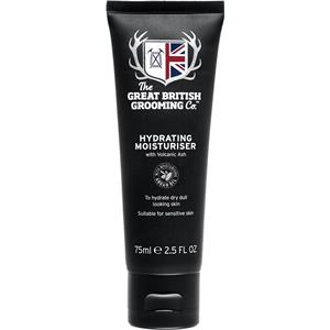 Image of The Great British Grooming Co. Pflege Gesichtspflege Hydrating Moisturiser 75 ml