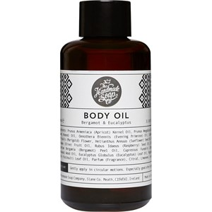 The Handmade Soap - Bergamot & Eucalyptus - Body Oil
