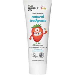 The Humble Co. - Dental care - Natural Toothpaste Strawberry Flavour