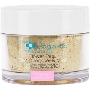 The Organic Pharmacy - Gesichtsreinigung - Flower Petal Deep Cleanser & Mask