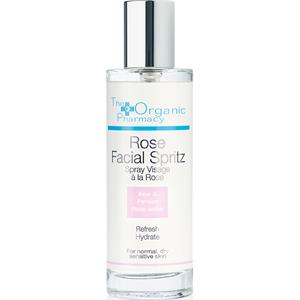 The Organic Pharmacy - Facial cleansing - Rose Facial Spritz Toner
