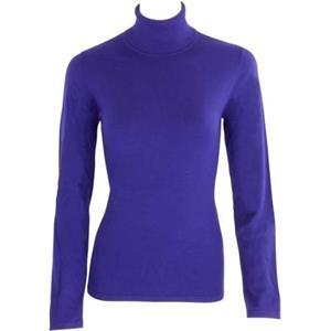 Turnover - Blusen & Pullover - Pullover lila