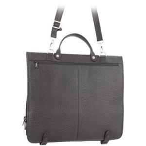 VOI Leather Design - Shopper - Shopper schwarz mit Reißverschluss
