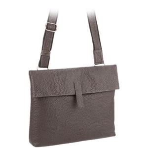 VOI Leather Design - Umhängetaschen - Umhängetasche braun mittel lang