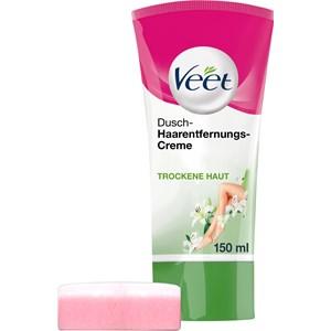 Veet - Cremes - Trockene Haut Dusch-Haarentfernungs-Creme