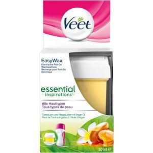 Veet - Warm- & Kaltwachs - Essential Inspirations Easy Wax elektrische Roll-On Wachspatrone