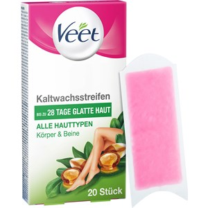 Veet - Warm- & Kaltwachs - Essential Inspirations Kaltwachsstreifen alle Hauttypen
