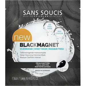Sans Soucis - Reinigung - Blackmagnet Vliesmaske