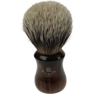 Vie-Long S.L. - Brochas de afeitar de pelo auténtico de tejón con punta de plata - Brocha de afeitar