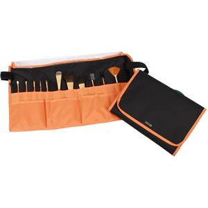 vie-long-s-l-pinsel-schminkpinsel-pinsel-set-nylon-schwarz-orange-11-echthaar-kosmetikpinsel-1-stk-