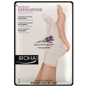 Village - Iroha - Exfoliations Socks Lavendel - Peelingsöckchen